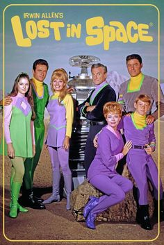 Lost In Space Cast Photo TV Show Mural Giant Poster inch - Poster Foundry Space Tv Series, Space Tv Shows, Sci Fi Tv Shows, Movies And Tv Shows, 1960s Tv Shows, Lost In Space Cast, Mejores Series Tv, Cartoon Tv Shows, Vintage Tv