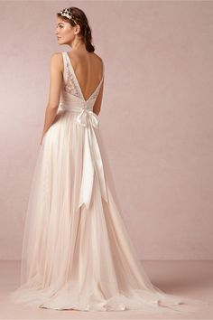 Tamsin Gown - can't decide if this one would look good on me...and I think it's too pink for what I want