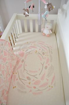 Cute Ideas for a Baby Girl Woodland Nursery - Project Nursery