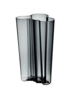 """Iittala Aalto Finlandia Vase 8"""" Dark Grey -- Awesome products selected by Anna Churchill"""