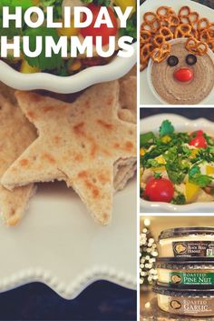 Today I'm sharing 3 quick and easy recipes to add some holiday cheer to your holiday entertaining with Boar's Head Hummus.  NEEDS: Boar's Head Rosted Pine…