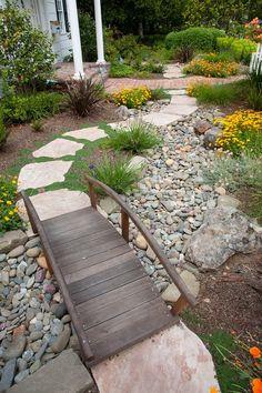 Дачные Дела: Садовые мостики - украшение вашего участка