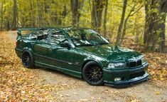 British-Racing Green by Budrys E36 Sedan, E36 Coupe, Bmw E30 M3, Bmw 328i, Bmw E36 Compact, Bmw M Series, Bmw Accessories, Custom Sport Bikes, Bmw Autos