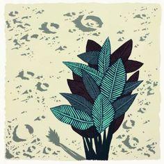 "Saatchi Art Artist Jonathan Wills; Painting, ""LunarPlant #4, 2015"" #art"