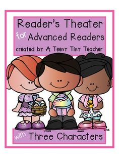 Reader's Theater for Advanced Readers! - These plays can be used for centers, Language Arts activities, fluency practice, partner reading, etc.
