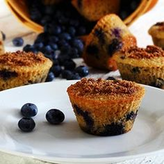Lemon-Blueberry Paleo Muffins Recipe
