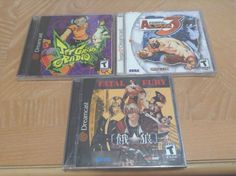 lot of Sealed Sega Dreamcast US Games  #retrogaming #HotDC  Garou: Mark of the Wolves Jet Grind Radio and Street fighter Alpha 3. 3 great games! Auction ends in some hours.