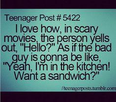 Haha! So true! :)