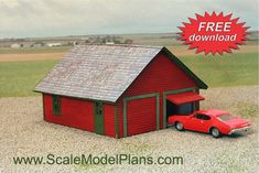 Model Railroad and Diorama Trackside Plans in HO Scale, O Scale, OO Scale, and N Scale Modern Modular Homes, Garden Railroad, Mobile Home Parks, Putz Houses, Model Train Layouts, N Scale, Building Plans, Model Trains, Victorian Homes