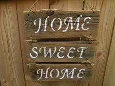 Home Sweet Home Sign Rustic Wood Sign by DivineRusticCreation, $22.00