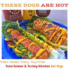 #Turkey & #Chicken Homemade Hotdog and #Tuna & #Salmon Homemade Hotdog... 100% gluten & dairy & soy & trans fat free! No sugar at all and so friggin' healthy :)
