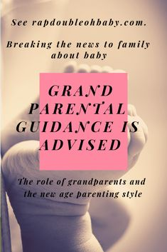 Describing the first trimester and breaking the baby news to family. Taking a look at the role of grandparents and their importance and influence from them and different parenting styles. New Parents, New Moms, Different Parenting Styles, Parental Guidance, First Trimester, A Day In Life, Mom Advice, First Time Moms, Everything Baby