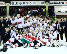 Tackla hockey jerseys. The Hungarian U18 national team wins the Division I Group B. Photo: Roberta Strazzabosco