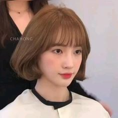 Kpop Short Hair, Ulzzang Short Hair, Korean Short Hair, Short Hair With Bangs, Girl Short Hair, Androgynous Hair, Edgy Hair, My Hairstyle, Hairstyles With Bangs