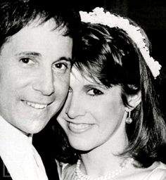 Paul Simon & Carrie Fisher, I loved them together. My favorite musical genius and the most sardonic and ironically humorous woman ever. Too much.
