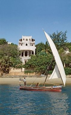 ISLAND OF LAMU AND THE PEPONI HOTEL, Lamu Town, Lamu, Kenya - Lamu is Kenya's oldest city and is a mix of Swahili and Islamic cultures.  There are no cars in town, so people use donkeys to get around.  In the water, transportation is by dhow, a small wooden sailing vessel.  Stay at the Peponi Hotel just outside of Lamu.  You can wind-surf, deep-sea fish or just relax at a beach bungalow.