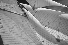 The sail plan of the classic yacht Tuiga was designed over 100 years ago and it still looks beautiful today.