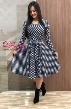 Swans Style is the top online fashion store for women. Shop sexy club dresses, jeans, shoes, bodysuits, skirts and more. Modest Fashion, Hijab Fashion, Fashion Dresses, The Dress, Dress Skirt, Frock Patterns, Short Frocks, Frock For Women, Mode Hijab