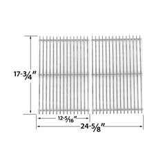 2 PACK STAINLESS STEEL COOKING GRID REPLACEMENT FOR DCS PC-2600, PC-26001, PC-2600L, PC-2600N, PCA-2600L, PCA-2600N GAS GRILL MODELS  Fits DCS Models : PC-2600, PC-26001, PC-2600L, PC-2600N, PCA-2600L, PCA-2600N  BUY NOW @ http://grillrepairparts.com/shop/grill-parts/stainless-steel-cooking-grid-replacement-for-dcs-pc-2600-pc-26001-pc-2600l-pc-2600n-pca-2600l-pca-2600n-gas-grill-models-set-of-2/