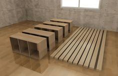 カラーボックスの手作りベッドで収納力アップ!作り方と実例アイデア集 | WEBOO[ウィーブー] 暮らしをつくる。