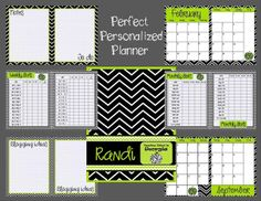 MissMathDork: middle school math made FUN!: The Perfectly Personalized Planner Giveaway!!!