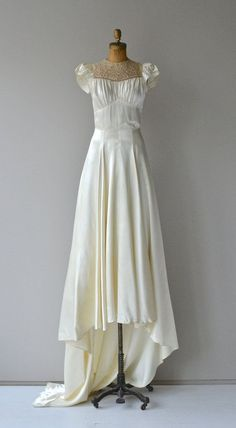vintage 1930s wedding gowns | wedding gown 1930s wedding dress vintage by DearGolden Gowns 1930S ...