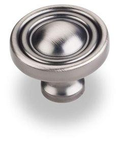 Jeffrey Alexander 818 Bella 1-3/8 Inch Diameter Mushroom Cabinet Knob