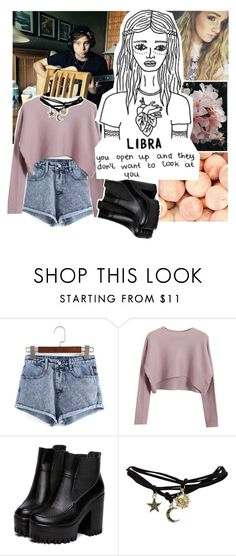"""// LIBRA //"" by malumtears ❤ liked on Polyvore featuring Chicnova Fashion, Wet Seal and asimonsen"