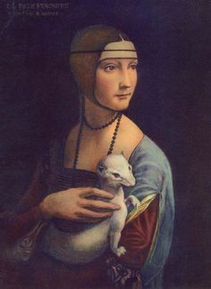 Michael Angelo's Lady and the ermine.