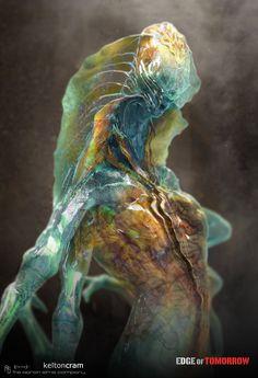 ArtStation - Edge of Tomorrow Mimic Concepts, Kelton Cram