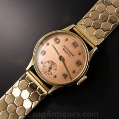 Vintage Rose Gold Bracelet Watch By IWC - What's New