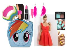 """Senza titolo #164"" by josselynkaite ❤ liked on Polyvore featuring My Little Pony, NARS Cosmetics, Charlotte Simone and Eye Candy"
