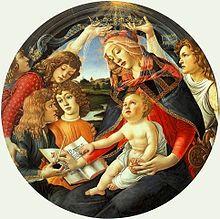 Madonna del Magnificat by Sandro filipepi aka Botticelli
