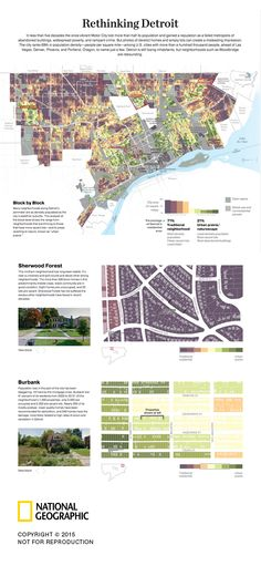 Over the past few decades, the Motor City gained a reputation as a failed metropolis of abandoned buildings, widespread poverty, and rampant crime. Architecture Plan, Residential Architecture, Landscape Architecture, Architecture Diagrams, Detroit Neighborhoods, Modern World History, Urban Analysis, Sherwood Forest, Urban Farming