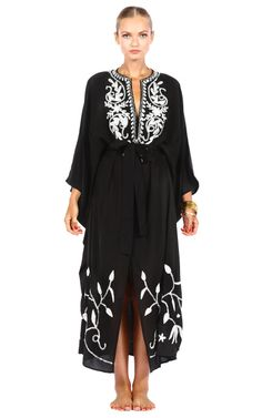 Pas Pour Toi Kaftans Kava Kaftan nice clothe to wear after the beach <3