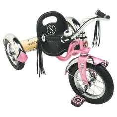 Classic Schwinn Tricycle and it's Pink! 3rd Birthday Present chosen. =)
