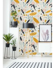 How Japanese Interior Layout Could Boost Your Dwelling Wrought Studio Hersh Removable Pastel Flower L X 25 W Peel And Stick Wallpaper Roll Wayfair Wallpaper Wall, Office Wallpaper, Self Adhesive Wallpaper, Peel And Stick Wallpaper, Wallpaper Ideas, Bright Wallpaper, Modern Wallpaper, Pastel Flowers, New Blue