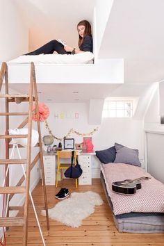 Great loft for a kids room