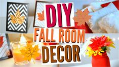 DIY Déco Automne - Fall Room Decor | Tumblr Inspired