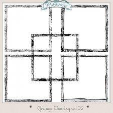 Set CU Grungy Border Overlays Vol 2 #CUdigitals cudigitals.comcu commercialdigitalscrapscrapbookgraphics #digiscrap