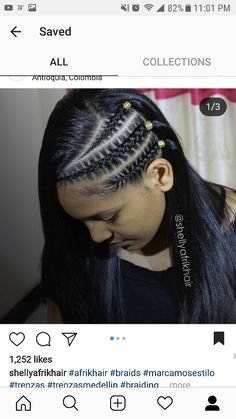 Latest Tribal Hairstyles 2018 In need of a new hairstyle? Then this is the place to be! We have few tribal braids hairstyles for you to try. These are braids to suit every style,… tryonhairstyles Lil Girl Hairstyles, African Braids Hairstyles, Twist Hairstyles, Hairstyles 2018, Curly Hair Styles, Natural Hair Styles, Make Hair Grow, Hair 2018, Braid Styles