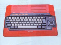 Sony HitBit HB-101 [MSX] (1984) by ✖ Daniel Rehn, via Flickr