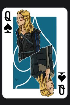 First card from the 100 fan art card series that I'm planning to make. Started with Commander Lexa because (besides her being one of my favorites) I just heard that they're in negotiations to bring...