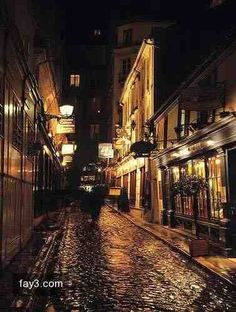 شوارع #باريس ليلا -5