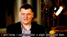 Steven Moffat on the Silence. I love this man. And I hate him. It's a very complicated relationship.