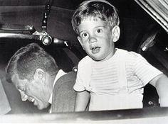 JOHN F. KENNEDY, and JOHN F. KENNEDY Jr., August 10, 1963