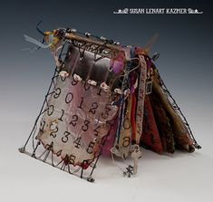 Art journals are full of intentions and desires; like this one by Susan Lenart Kazmer.