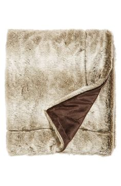 Free shipping and returns on Kennebunk Home 'Twilight' Faux Fur Throw at Nordstrom.com. A warm and cozy blanket reverses from faux fur to velvet.