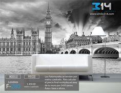 Fotomurales Cuidad Parlamento Ingles Big Ben Londres Inglaterra (tapiz) (mural) (fotomural). Vinilo314 Guadalajara Mexico. Decoración de muros y superficies lisas. www.vinilo314.com