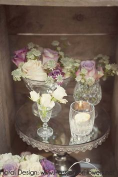 vintage wedding flowers by www.passionforflowers.net